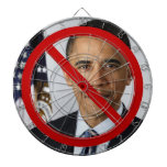 Ningún tablero de dardo de Obama Tablero Dardos