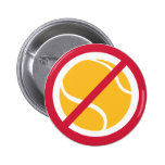 Ningún tenis pins
