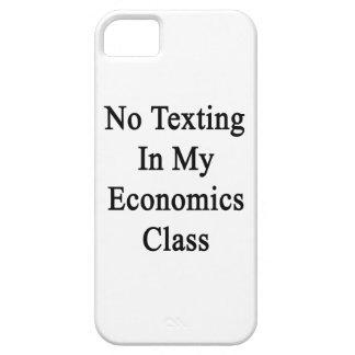 Ningún Texting en mi clase de la economía iPhone 5 Case-Mate Protectores