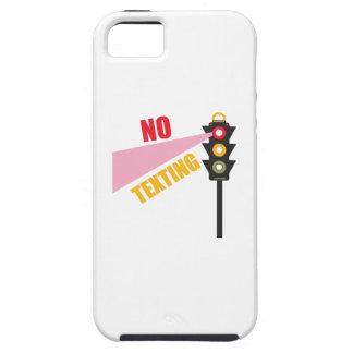 Ningún Texting iPhone 5 Carcasa