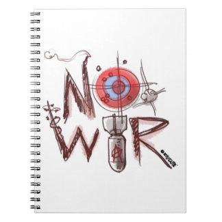ningún texto de la guerra basó el ejemplo libretas espirales