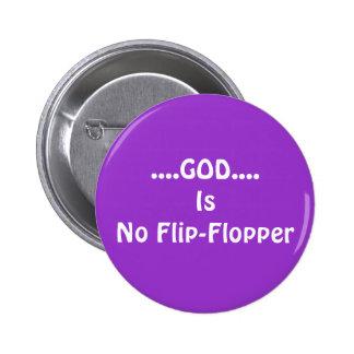Ningún Tirón-Flopper Pins