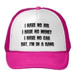 Ningún trabajo - ningún dinero - ningún coche gorra