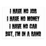 Ningún trabajo - ningún dinero - ningún coche postal