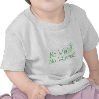 Ningún trigo ningunas preocupaciones camiseta