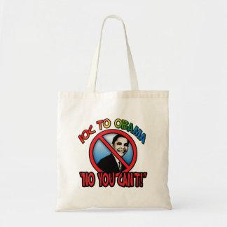 Ningún usted no puede bolsa