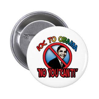 Ningún usted no puede pin