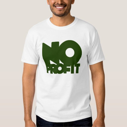 ningún verde simple del beneficio remera