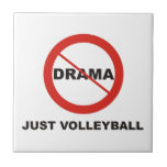 Ningún voleibol del drama apenas teja  ceramica