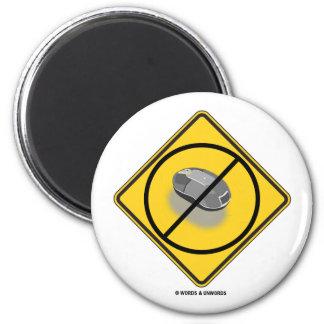 Ningún Web que practica surf ratón amarillo de la Imanes