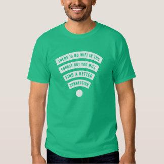 Ningún wifi en el bosque pero una mejor camisa de