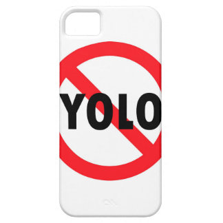 ¡NINGÚN YOLO iPhone 5 CARCASA