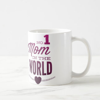Ninguna 1 mamá en el mundo taza básica blanca