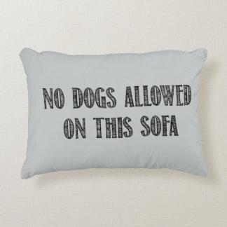 Ninguna almohada de tiro de los perros cojín