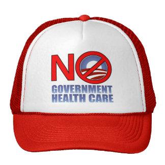Ninguna atención sanitaria del gobierno gorra