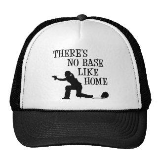 Ninguna base tiene gusto a casa, negro gorras