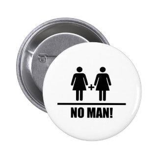Ninguna boda tradicional del hombre pin