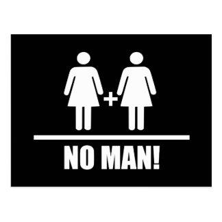 Ninguna boda tradicional del hombre postal