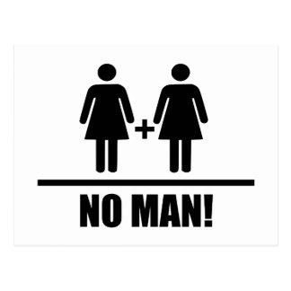 Ninguna boda tradicional del hombre tarjetas postales