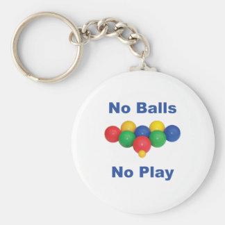 Ninguna bola de Bocce de las bolas Llavero Redondo Tipo Pin