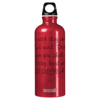 Ninguna botella de la derrota H2O