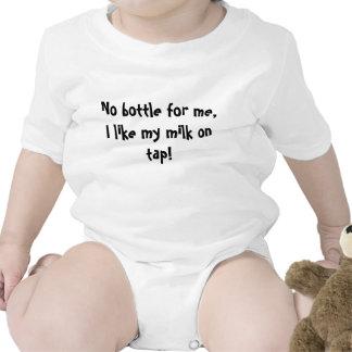 Ninguna botella para mí tengo gusto de mi leche