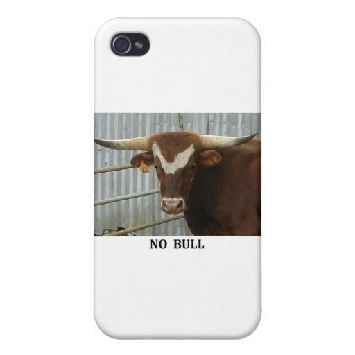 Ninguna Bull iPhone 4 Funda