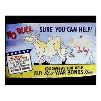 Ninguna Bull, segura usted puede ayudar, compra má Tarjetas Postales