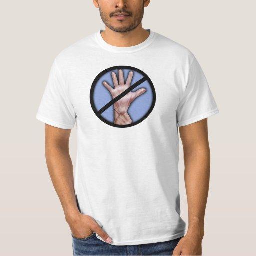 ¡Ninguna búsqueda de la tira! camiseta