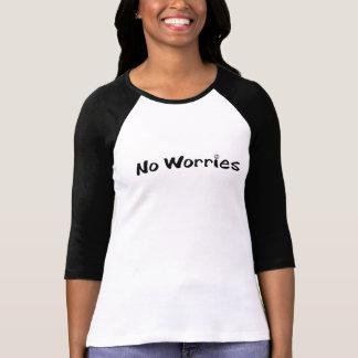 Ninguna camisa de las preocupaciones
