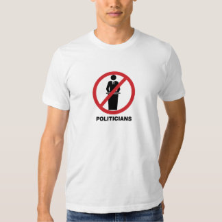 Ninguna camisa de los políticos