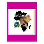 Ninguna camiseta de 1 Liberia y etc Tarjetas Postales