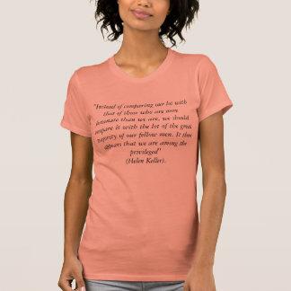Ninguna camiseta de la cita de las comparaciones polera