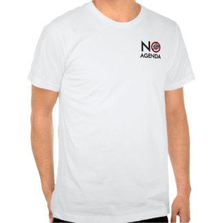 Ninguna camiseta de la demostración del orden del playera
