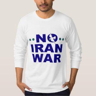 Ninguna camiseta de la guerra de Irán Polera