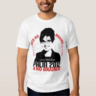 Ninguna camiseta de los cerebros remera