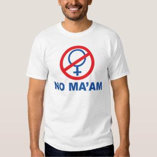 Ninguna camiseta de Maam Playera