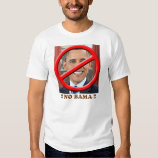 Ninguna camiseta de Obama Playera