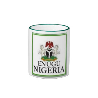 NINGUNA CAMISETA Y ACCESORIOS DE 1 NIGERIA TAZA DE DOS COLORES