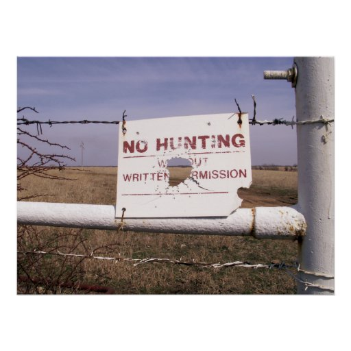 Ninguna caza póster