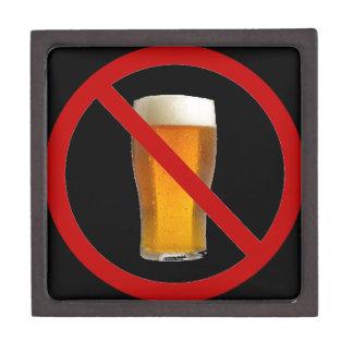 """""""Ninguna cerveza """" Cajas De Joyas De Calidad"""
