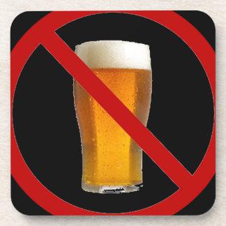 """Ninguna cerveza "" Posavasos De Bebidas"
