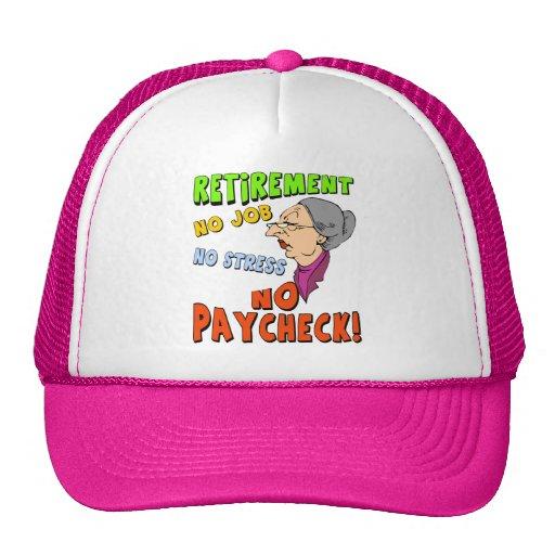 Ninguna cheque gorra
