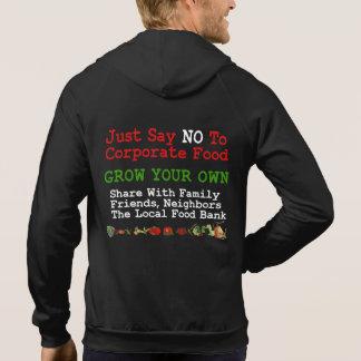 Ninguna comida corporativa camiseta