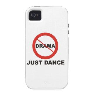 Ninguna danza del drama apenas iPhone 4 fundas