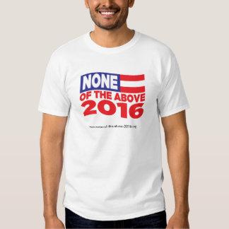 Ninguna de la camisa antedicha 2016