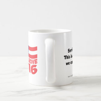 Ninguna de la taza 2016 de café antedicha