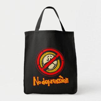 Ninguna depresión bolsa tela para la compra