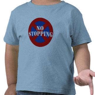 Ninguna detención camiseta
