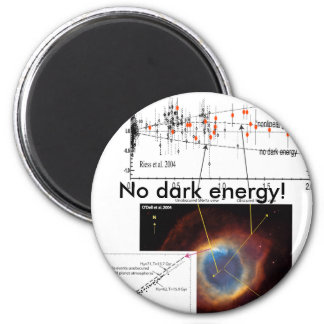 ¡Ninguna energía oscura! Imán Redondo 5 Cm